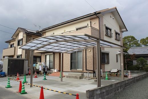 土間養生in柳川