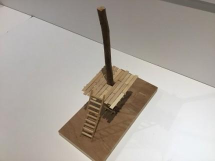 こどもの建築学校ツリーハウス模型