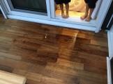 ガーデンルームの雨漏れ