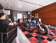 男の趣味の部屋