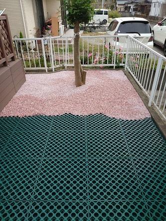 豆砂利ピンク