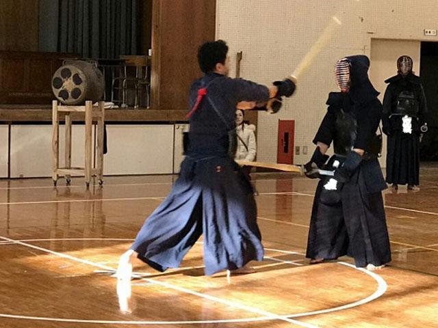 剣道初試合