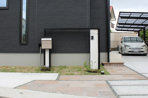 T様邸オリジナル門柱