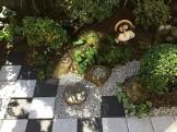 和モダンな坪庭