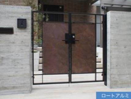 オリジナル門扉02