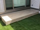 人工芝 タイルテラス ガーデン