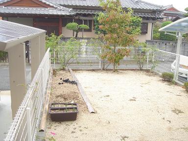 お庭:Before
