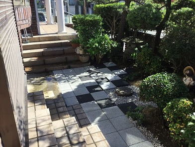 舗装 コンクリート平板