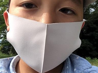 マスクで登山