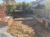 乱形石の庭 掘削