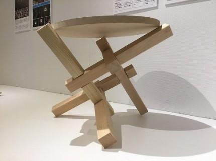 こどもの建築学校相欠きテーブル