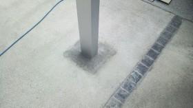 コンクリートはつり跡