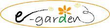 久留米市エクステリアe-gardenロゴ