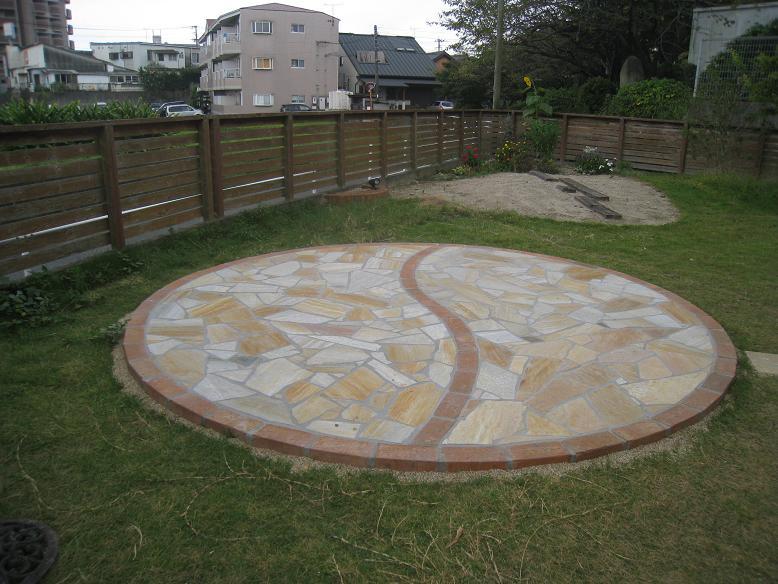円形スペース