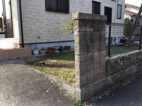 大刀洗町ブロックのリフォーム